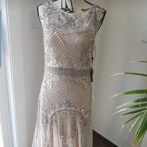 Beautifully beaded dress
